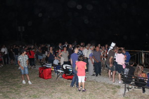 Star party in Molise